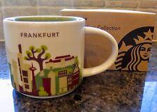 NWT Starbucks FRANKFURT Germany You Are Here YAH Collector Series Mug with SKU