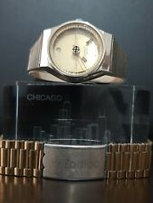 Rare watch Zodiac Astrographic SST Mistery Dial Automatic Men´s Gold + Gift !
