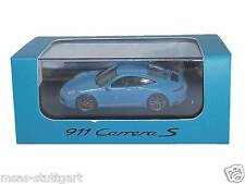 Porsche 911 Carrera S miamiblau ltd. Edition Spark 1:87 fabrikneu