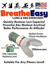 Respiratory Aid & Lung Exerciser - BreatheEasy is the BEST Value! Nature's Gifts