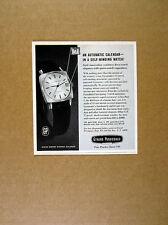 1965 Girard Perregaux Gyromatic Watch photo vintage print Ad
