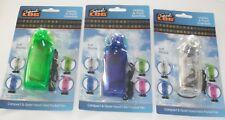 3 x Portable Pocket Fan Cool Air Hand Held Battery Travel Blower Cooler Desk