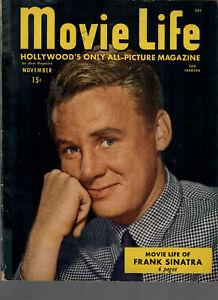 Movie Life  Nov 1946 Van Johnson-Frank Sinatra-Glenn Ford...