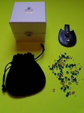 Loose New Swarovski Multicolored and Multisize Crystals And Luggage Tag with box