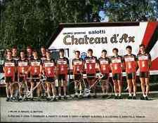 Team CHATEAU D'AX Francesco MOSER GIANNI BUGNO Cyclisme ciclismo TONY ROMINGER