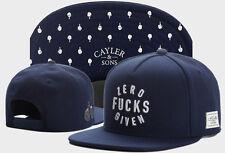 Hot Hip Hop Men's CAYLER Sons Cap adjustable Baseball Snapback Street Blue hat