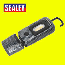 Sealey LED3601 CARBON FIBRE Rechargeable 360° Inspection Lamp 2w Cob 1w Led New
