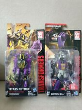 Transformers Combiners Kickback & Bombshell New and RARE
