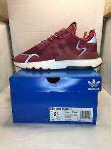 Adidas Originals Kids' Nite Jogger J Sneaker EF9215 Sz 6.5 Youth US New in Box