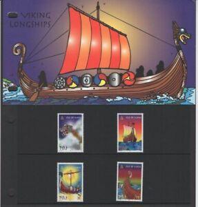 Isle of Man  1998  Viking Longships - Presentation Pack - Ref:5199