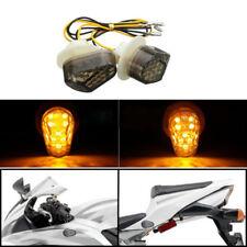 For Yamaha FZ6R FZ1 YZF R1 R6 R6S FZ09 Flush Mount LED Turn Signal Blinker Light