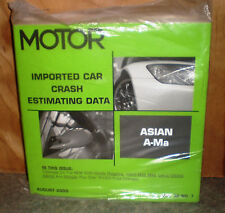 Motor Crash Estimating Guide - Imported Asian A-Ma - August 2005 VOL.32 NO.7