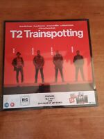 Trainspotting T2 bluray più dvd art cards big sleeve