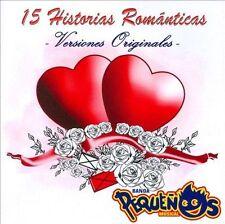 NEW - 15 Historias Romanticas by Banda Pequenos Musical