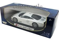 Motormax Saleen S7 1:18 Diecast White 73117