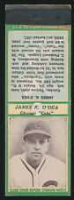 1936 Diamond Matchbooks JAMES K. O'DEA (Chicago Cubs) GREEN