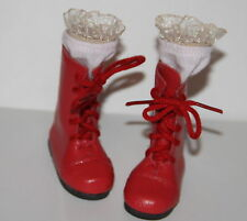 Jasmines Cottage Design Tomecia Red Leather Boot MSD 70mm fits Wiggs & Lasher