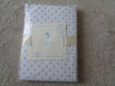 Pottery Barn Kids Mini Dot polka dot standard Pillowcase grey white (1) New