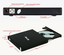 External DVD Drive Portable CD DVD ROM USB powered Optical Drive  WIN 7,10 OS X