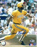 DAVE PARKER SIGNED AUTOGRAPHED 8x10 PHOTO PITTSBURGH PIRATES LEGEND BECKETT BAS