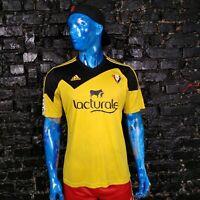 Osasuna Jersey  Away shirt 2015 - 2016 Yellow Black Adidas Z20265 Mens Size L