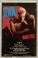 BILLY IDOL Rebel Yell Cassette Tape (1983 Chrysalis) OOP Original Print C124674