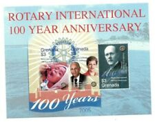 Grenada - 2005 - Rotary Centenary - Sheet Of 3 - Mnh