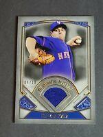 Steven Matz Patch New York Mets 2017 Topps Museum Collection 4/10