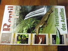 4µ? Revue Reptil Mag n°51 Phasme Tortue Celebes Agame barbu Serpent Ratier Lampe