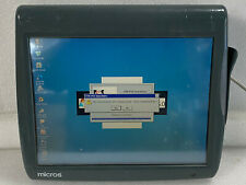 Micros Workstation 5A 400814-101 Atom N450 1.6Ghz 512Mb Boots As Is Y1/Hc