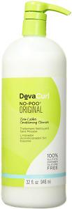 Devacurl No-Poo Original Cleanser 32 Ounce
