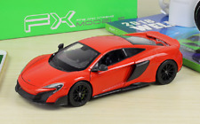 Welly 1:24 McLaren 675LT Diecast Model Sports Racing Car Toy NEW IN BOX Red