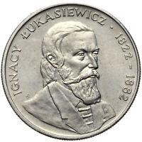 Polen - Gedenkmünze - 50 Zlotych 1983 - IGNACY LUKASIEWICZ 1822-1882