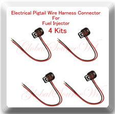 4 Kits Pigtail Connector of Fuel Injector FJ1064 Fits: HHR Malibu G6 2.2L 2.4L