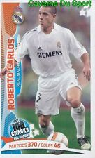 079 ROBERTO CARLOS BRAZIL REAL MADRID STICKER 100 CRACKS JUGON 2005-2014 PANINI