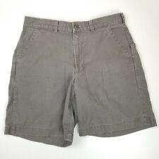 "Patagonia 32 Gray Organic Cotton 7"" Stand Up Cargo Shorts Pockets"