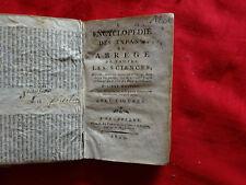 ANONYME [JEAN-NICOLAS LORIQUET] - Encyclopédie des enfants, ou abrégé de toutes