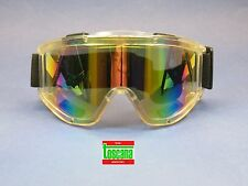 Dental Medical Veterinary Lab Protection Glasses Safety Goggles Rainbow TOSCANA