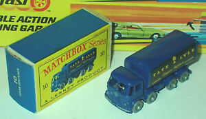 Matchbox 10c Foden Sugar Container Mint in Very Near Mint Box