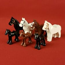 Genuine Lego Horse and Foal Minifigures Lot