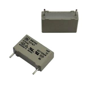 20x MKP Foil Capacitor Radial 0,015µF 275V AC Iskra KNB1560U01520%275V 15nF