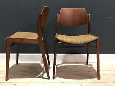 2 Stühle von Hartmut Lohmeyer für Wilkhahn Mid Century Teak