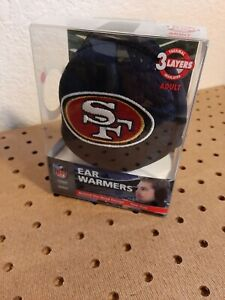 San Francisco 49ers Thermal Insulated Behind the Head Ear Warmers by Reebok. NEW