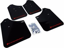 Rally Armor for 02-07 WRX STi RS 2.5i MF1-BAS Mud Flaps Kit w/ RED Logo