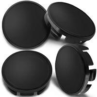 4x Wheel Centre Alloy Hub Center Caps Black 65mm Fits: 3B7 601 171 / 6U7 601 171