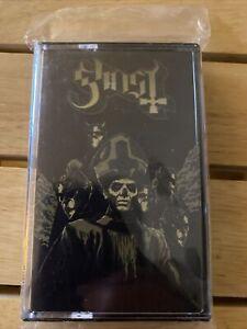 GHOST bc DEEZER SESSIONS Cassette EP Metal Band Papa Emeritus b.c. OOP