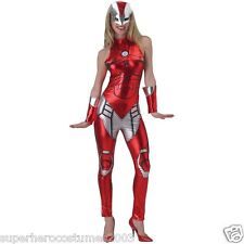 The Avengers Age of Ultron Iron Girl Rescue Female Costume XS 0-2 Marvel 820009
