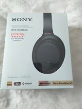 Sony WH-1000XM3 Wireless Noise Cancelling Headphones - Black - Brand New in box