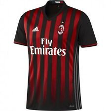 OFFICIAL AC MILAN HOME 16/17 JERSEY Size MENS L