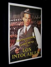 ORIGINAL KEVIN COSTNER UNTOUCHABLES Linen Backed ARGENTINA O/S L@@K 29 X 43 1/2